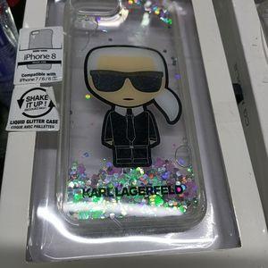 BNWT Karl Lagerfeld iPhone Cases X 2